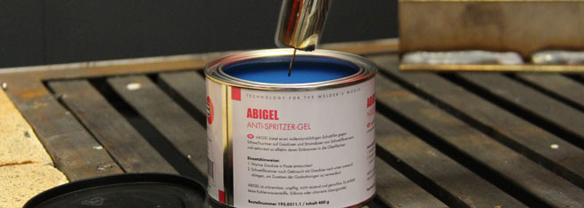 ABI-Gel anti-spatter nozzle gel action