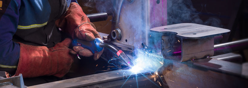 MIG/MAG Welding Torch ABIMIG® A LW in action