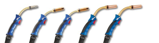 MIG/MAG Welding Torches MB GRIP, liquid cooled