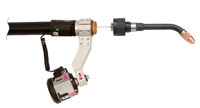 MIG/MAG Welding Torch System ABIROB® W 300 (liquid cooled)