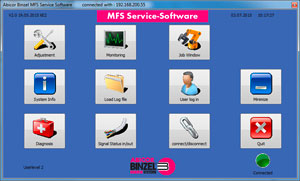 Master-Feeder-System Service Software