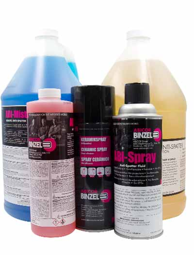 Anti-spatter chemicals