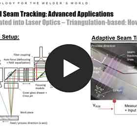 Optical Seam Tracking: Advanced Applications