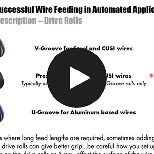 Keys to Successful Wire Feeding in Automated Applications