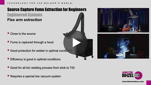 Source Capture Fume Extraction for Beginners