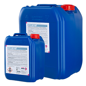 Welding chemicals – Coolant BTC-50 NF (non-flammable)