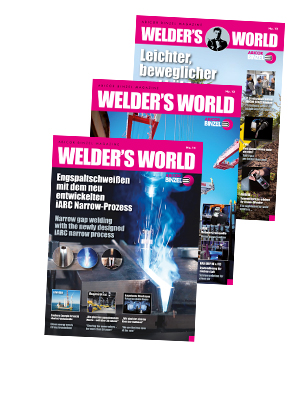 Magazine WELDER`S WORLD