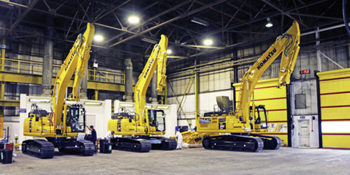 Komatsu UK Ltd., Birtley, England